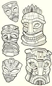 african mask coloring pages 88 best masks images on pinterest masks elementary art and