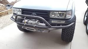 lexus lx470 black grill trail gear front bumper mods and warn m12000 ih8mud forum