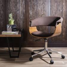 Desk Chair Modern Midcentury Modern Desk Chair Wayfair