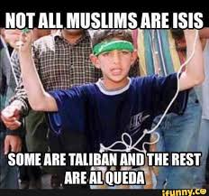 Racist Muslim Memes - not all muslims are isis the donald