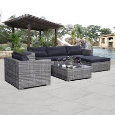 Patio Furniture Sets Gray Wicker Patio Furniture Furniture Ideas And Decors