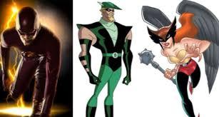 Hawkgirl Halloween Costume Flash Preview Teases Green Arrow Hawkgirl Iris Allen
