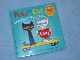 pete the cat valentines day is cool children s read aloud story