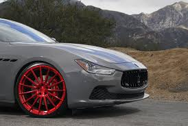 custom maserati dub magazine maserati ghibli on avant garde wheels by vibe