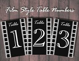 themed table numbers 64 best themed wedding decorations images on