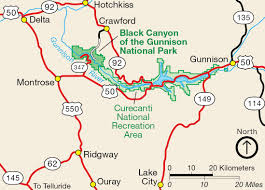 Castlewood State Park Trail Map Black Canyon Of The Gunnison Canyoneering Summitpost