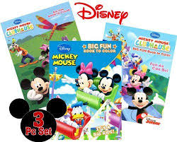 mickey mouse clubhouse favorite book color ebay