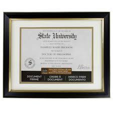 uva diploma frame document wall frames