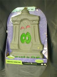 Motion Sensor Halloween Decorations by Motion Sensor Haunted Tombstone Animated Light Up And Sppoky