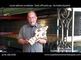 ornamental iron wrought iron supply superior ornamental supply
