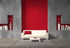 wandgestaltung rot moderne möbel und dekoration ideen kühles wohnzimmer rot gelb