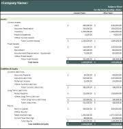 Opening Balance Sheet Template Balance Sheet Template