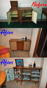 Repurposing Old Furniture by Old Console Stereo Cabinet Into Bar Console Rehab Pinterest