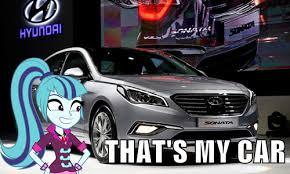 Solo Meme - 811416 car equestria girls hyundai hyundai sonata meme