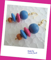 Combination Of Blue by Newest Earrings Craftzy