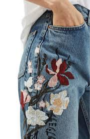 Jeans Best 25 Embroidered Jeans Ideas On Pinterest Embroidered