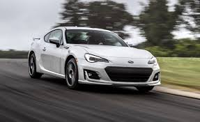 subaru sport car 2017 subaru brz performance package at lightning lap 2017 feature