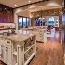 rustic open floor plans home architecture rustic open kitchen living room floor plans with