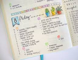 daily layout bullet journal a how to guide to bullet journaling her cus