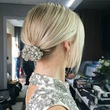 hair styles with rhinestones 31 wedding hairstyles for short to mid length hair stayglam