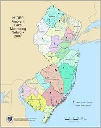 Lake Cumberland Map Njdep Dwms Bureau Of Freshwater And Biological Monitoring