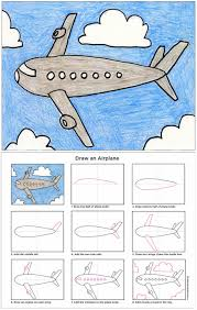 simple ways that teaches you how to draw airplanes filing and