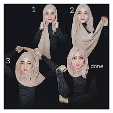 tutorial jilbab segi 4 untuk kebaya 40 cara memakai jilbab segi empat modern terbaru fashion muslim