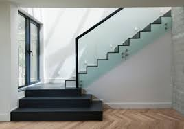 Banister Glass Pros And Cons Interior Glass Railing For Stairs