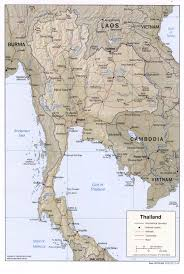 lexus of thailand maps map thailand