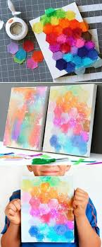 where to buy bleeding tissue paper canvas painting ideas for kids using tissue paper beautiful