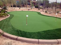 Backyard Putting Green Installation by Grass Installation Lawton Oklahoma Golf Green Backyard Makeover