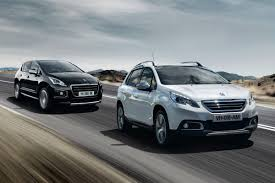 peugeot france price list peugeot launches 2008 and 3008 adventure themed crossway editions
