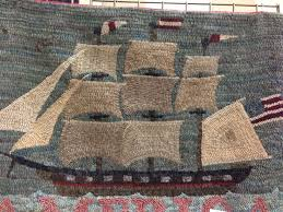 Wool Hand Hooked Rugs 140 Best Rug Hooking Ships U0026 Boats Images On Pinterest Rug