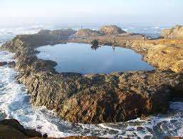 Glass Beach Tidal Pool Isolated From The Waves Of The Pacific Ocean By U2026 Flickr