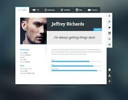 Best Resume Site by 11 Best More Of The Best Resume Cv U0026 Vcard Wordpress Themes