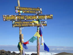 Mt Kilimanjaro Map Kilimanjaro Climb Shira Route 6 Days Itinerary