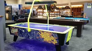 used coin operated air hockey table air hockey maine home recreation maine home recreation