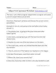 3rd grade common core language worksheets
