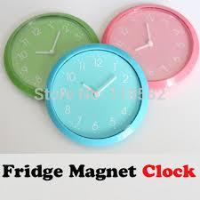 g nstige k che einfache kühlschrankmagnet uhren günstige küche wanduhren drei