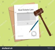 signing legal concept real estate law stock vector 559975384