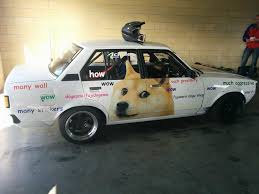Doge Meme Car - my buddy piloted another doge inspired car this weekend at a drift
