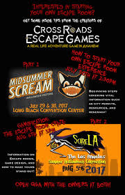 escape room classes at halloween conventions