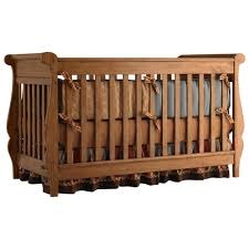 Bertini Pembrooke 4 In 1 Convertible Crib Natural Rustic by Nobility Small Baby Cribs With Colors Wooden Surripui Net