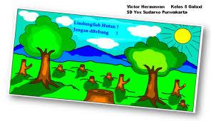 cara membuat poster untuk anak sd membuat poster menggunakan paint sd yos sudarso purwakarta