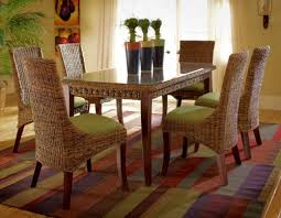 rattan dining table sets rattan and wicker dining room furniture