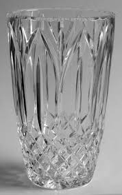 Atlantis Crystal Vase Atlantis Chartres Cut At Replacements Ltd