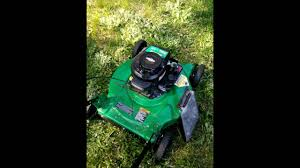 weed eater briggs and stratton 450 series engine youtube
