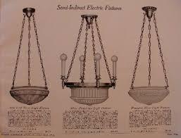 1920 sears antique lighting catalog frame