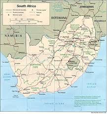 Africa Political Map by Nationmaster Maps Of South Africa 18 In Total