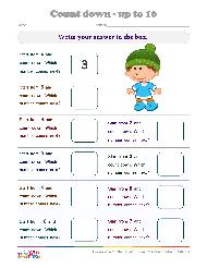 counting worksheets for kindergarten preschool counting